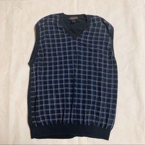 Brooks Brothers argyle sweater vest. Sz XL MENS